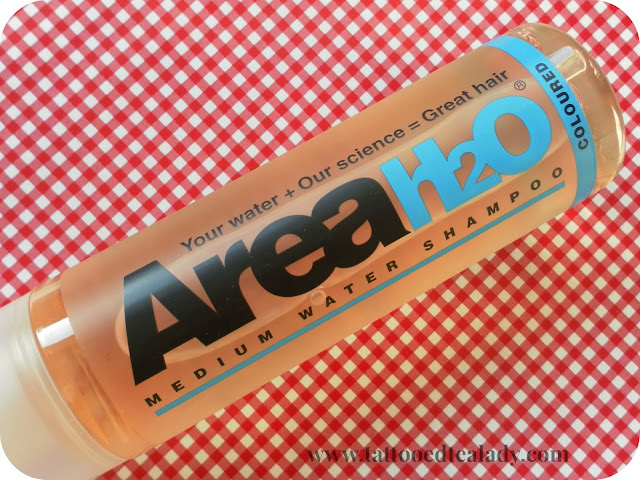 AreaH20 Medium Water Shampoo for Colour Treated Hair
