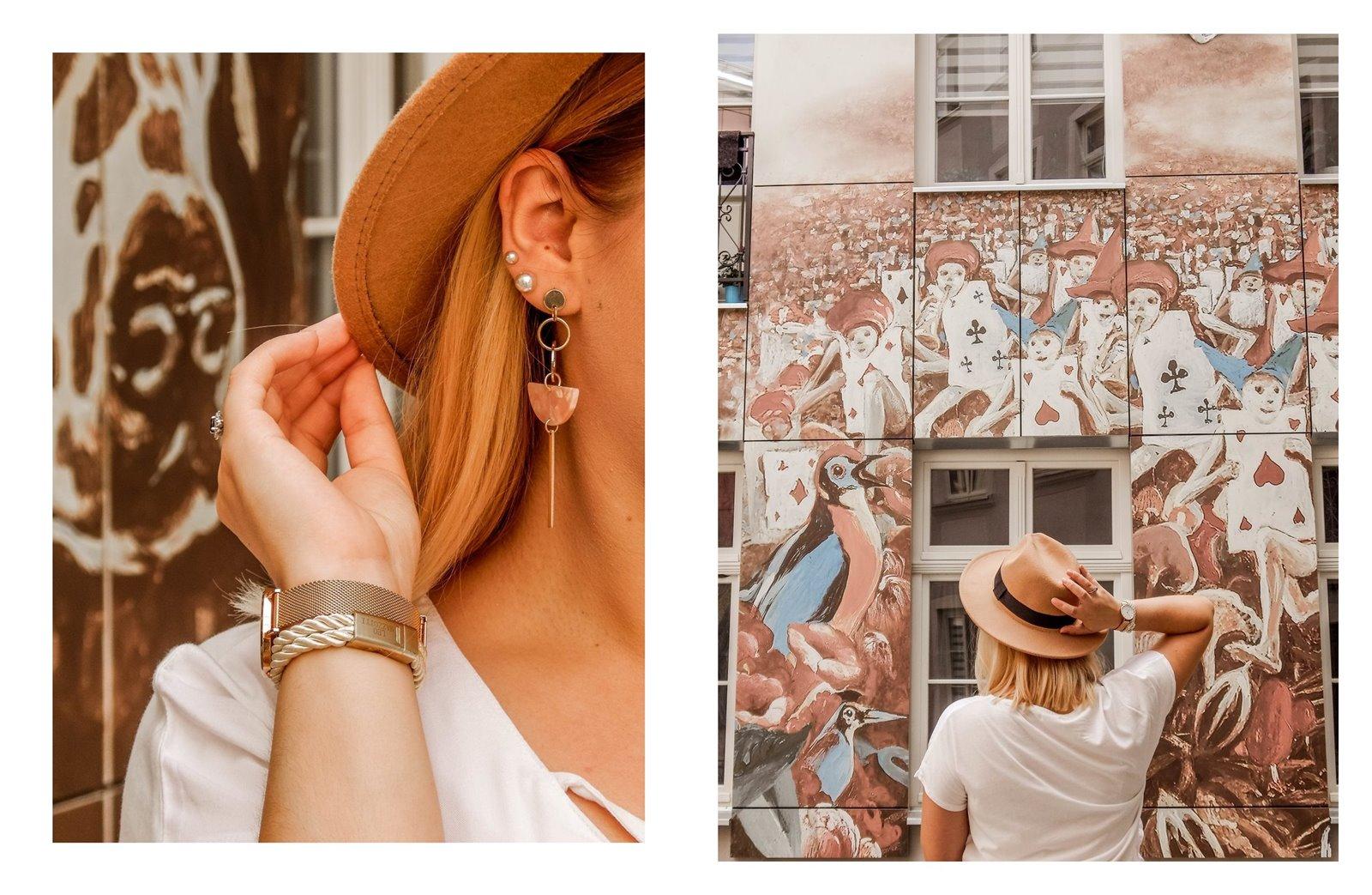 11 łódź podwórko artystyczne przy ul. Więckowskiego 4 murale łódzkie graffiti artystyczne podwórka miejsca które warto zobaczyć instafriendly miejsca w łodzi na sesje zdjęciowe dla blogerów ładne piękne kolorowe
