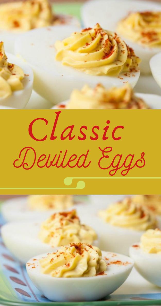 CLASSIC DEVILED EGGS #egg #calssic