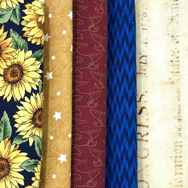 Quilts Of Valor Fabric Pull by Thistle Thicket Studio. www.thistlethicketstudio.com