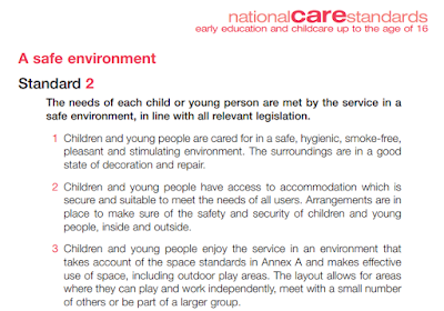 National Care Standards - A safe environment