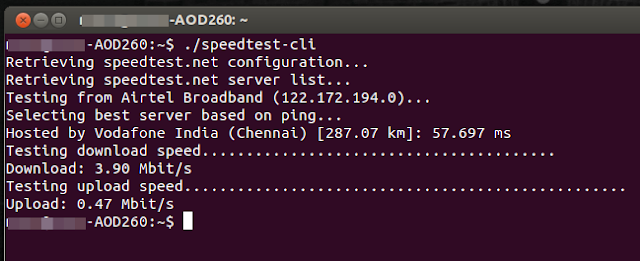 speedtest-cli ubuntu installation