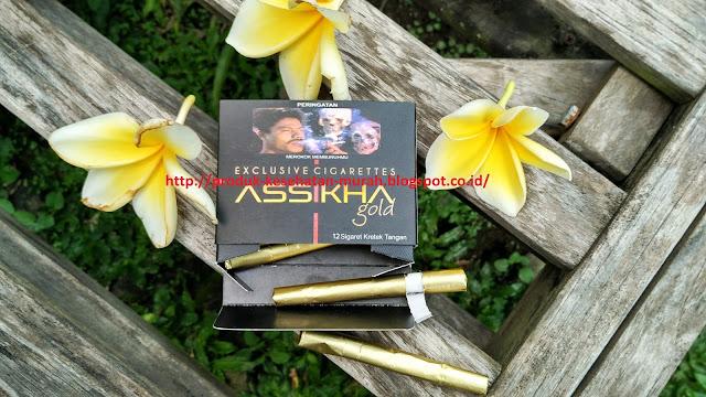 Rokok Kretek Rempah Asshika Gold