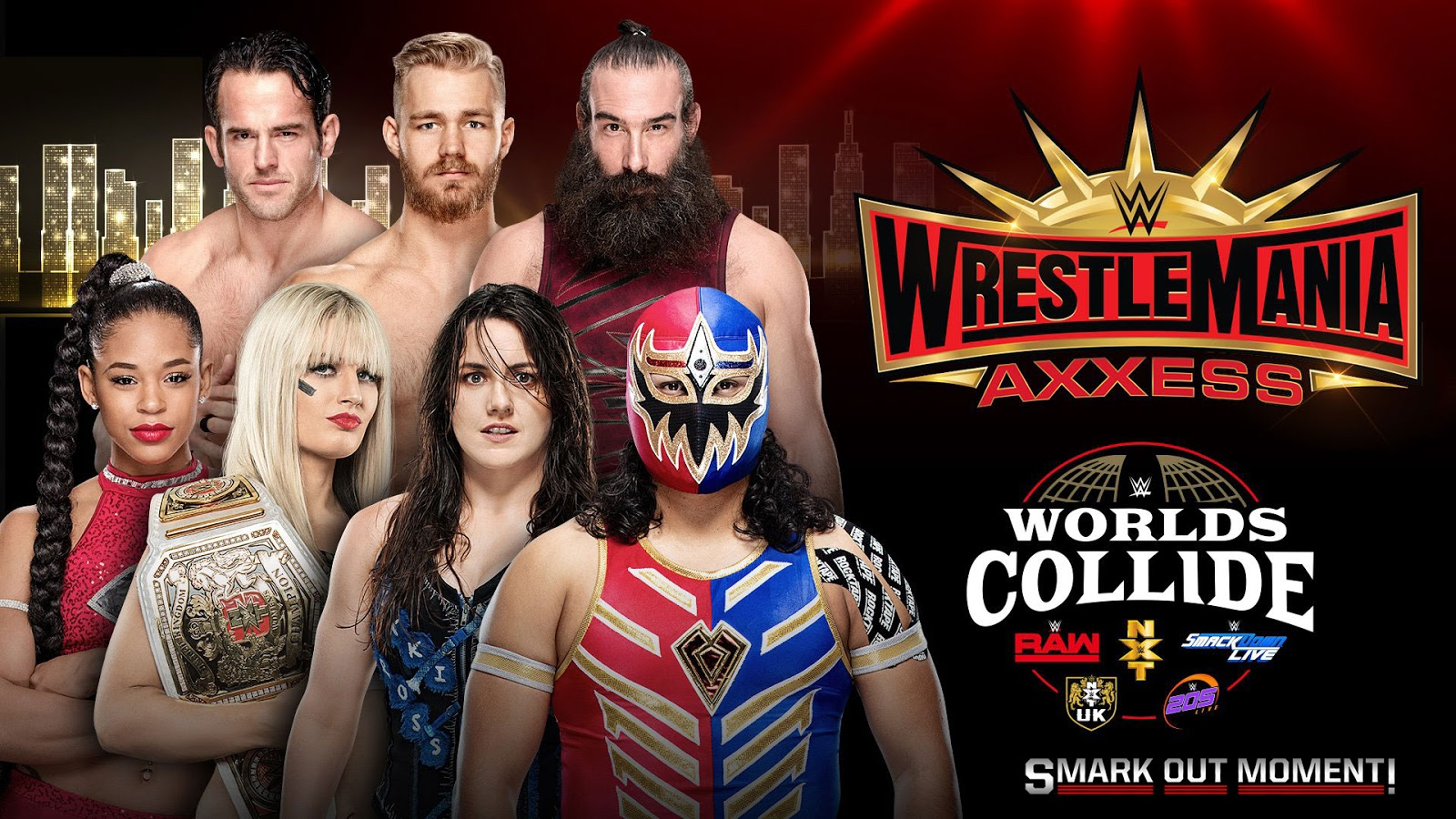 WWE Worlds Collide at WrestleMania 35 Axxess Results and