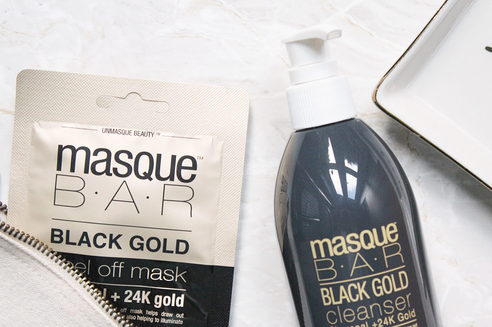 MasqueBAR Black Gold Skincare