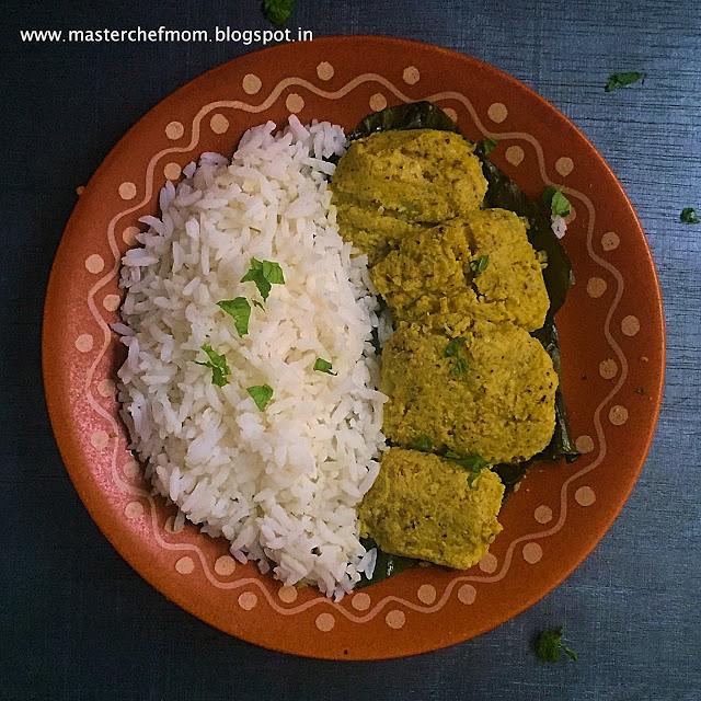 Fulkopir Paturi | Bengali Style  Cauliflower Dumplings