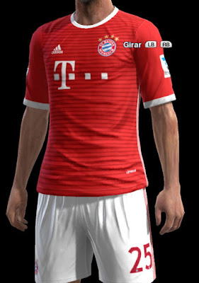 Bayern Munich Home Leaked kit 16-17