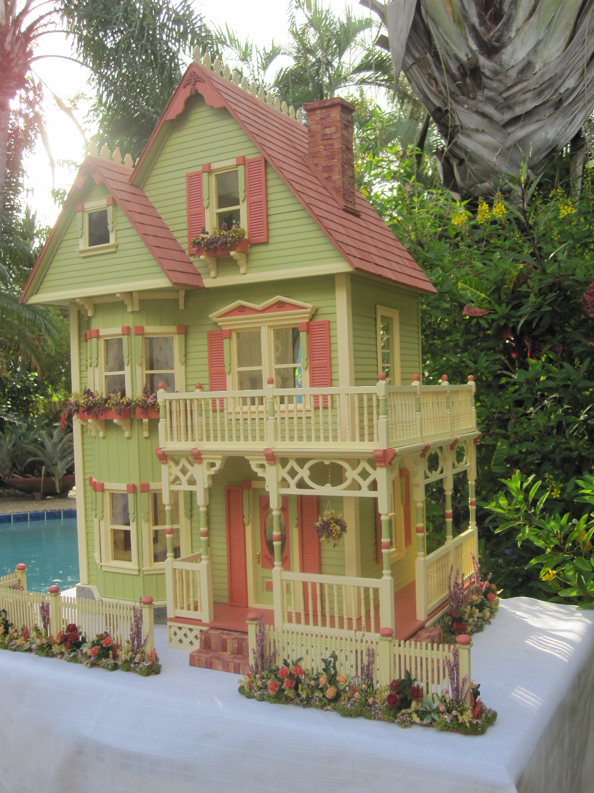 used american girl doll houses