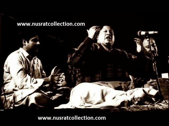 Lyrics Meri Aankho Ko Bakhshe Hai Aansoo Ghazal by Nusrat Fateh Ali Khan