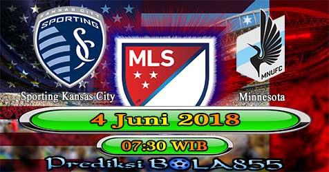 Prediksi Bola855 Sporting Kansas City vs Minnesota 4 Juni 2018