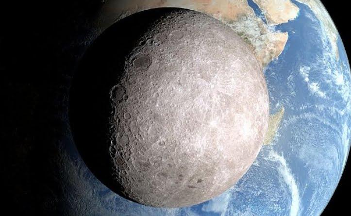 Foto Missione spaziale: la prima volta sul lato oscuro della Luna.