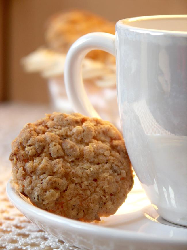 kruche ciasteczka słonecznikowo-owsiane