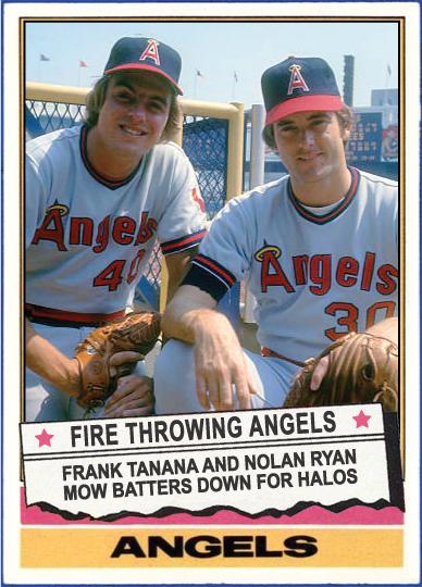 When Topps Had Baseballs 1976 Special Nolan Ryan And Frank Tanana