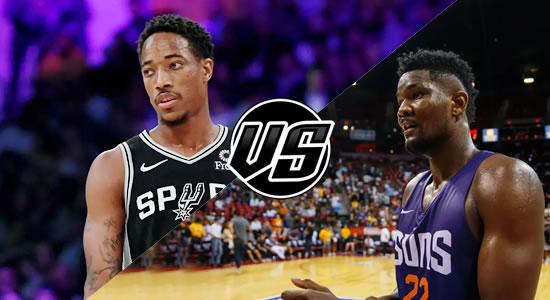 Live Streaming List: San Antonio Spurs vs Phoenix Suns 2018-2019 NBA Season
