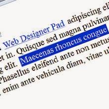 Create Web Designer Depot like link Rollovers