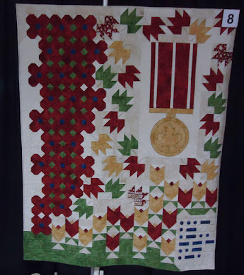 Quilt #8 of the Quilts of Valour Challenge