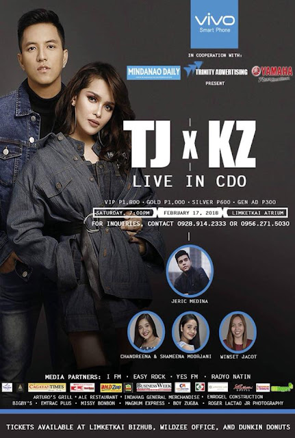 Proud to be Kagay-anon!: Live Concert of TJ and KZ in CdO!