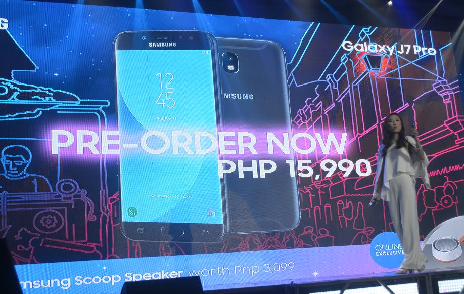 Samsung Galaxy J7 Pro pricing Philippines