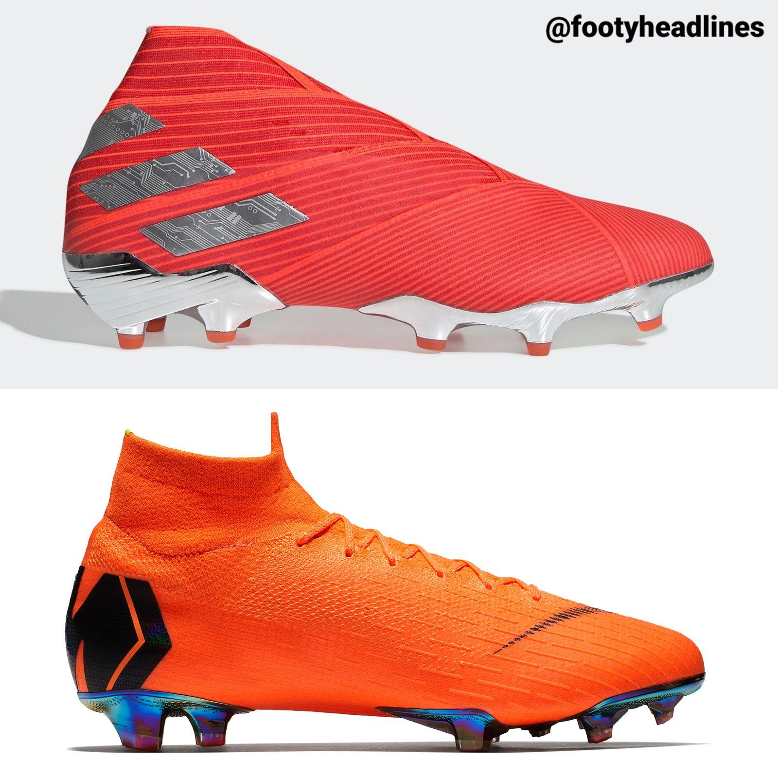 convergencia Crudo puerta  Next-Gen Adidas Nemeziz 19 Two Plate Construction Stolen From Nike Mercurial  360? - Footy Headlines