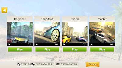 Racing 3D Asphalt Real Tracks Mod dinheiro infinito