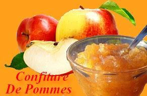 préparation recette confiture de pommes