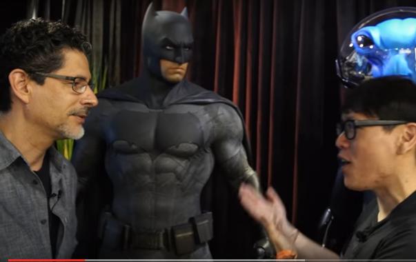 El creador del traje de Batman habla sobre su trabajo