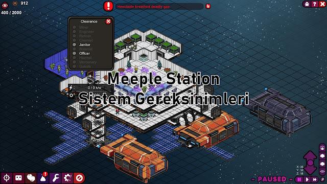 Meeple Station Sistem Gereksinimler
