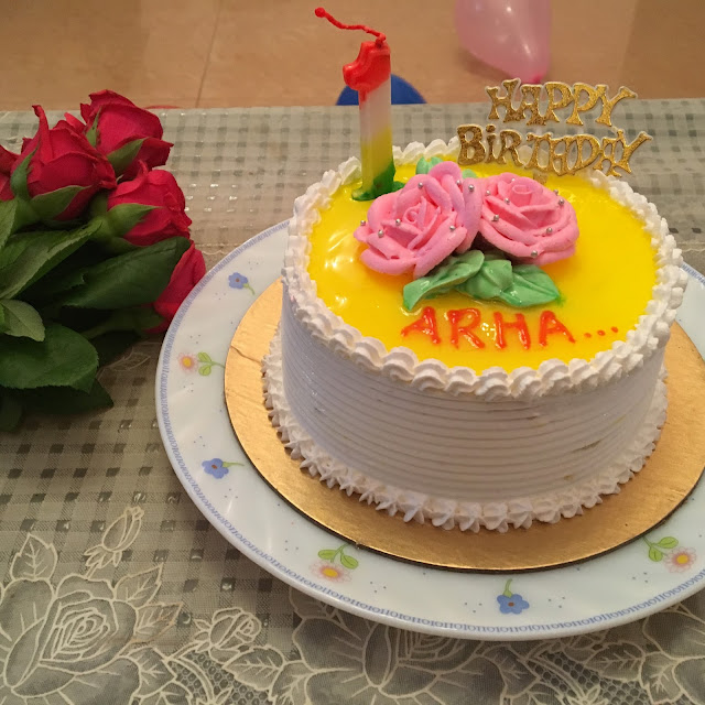 Arha's First Birthday