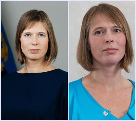 Kadın Cumhurbaşkanı. Estonya Cumhurbaşkanı
