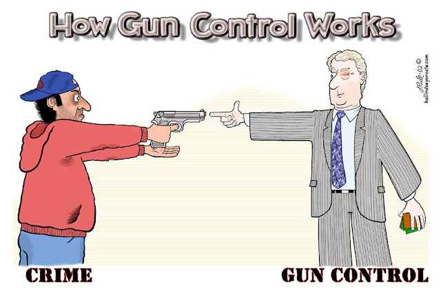 Anti Gun Control Meme Cartoon