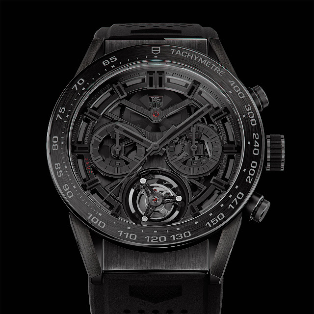 TAG Heuer Carrera Heuer-02T Black Phantom Mechanical Automatic Watch