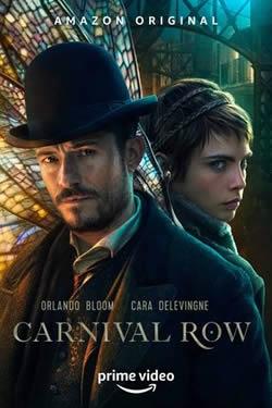 Capa Primeira Temporada de Carnival Row