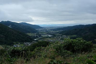 長野県生坂村 白日からの眺め