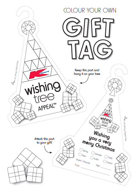 Share the Joy of Giving: Kmart Wishing Tree Appeal
