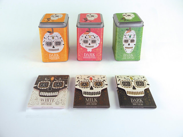 Bitter Sweet Chocolate's Spooky Packaging