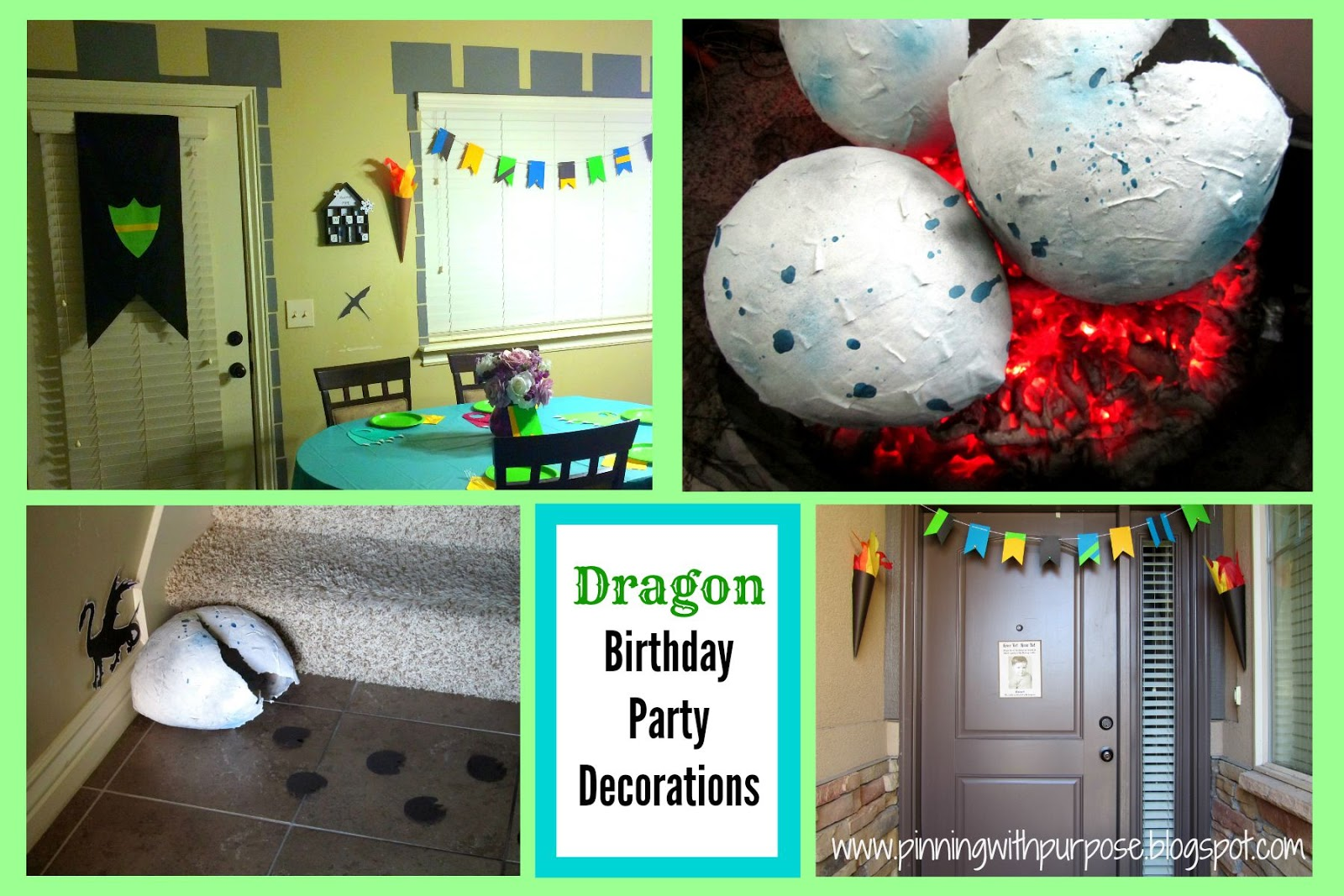 Dragon Birthday Party Decorations Pinning With Purpose
