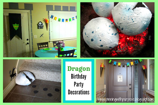 Dragon Birthday Party Decorations
