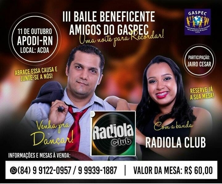 III BAILE BENEFICENTE DO GASPEC