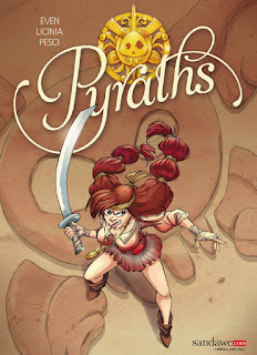 [7BD] Pyraths tome 1- Fiche BD des éditions Sandawe