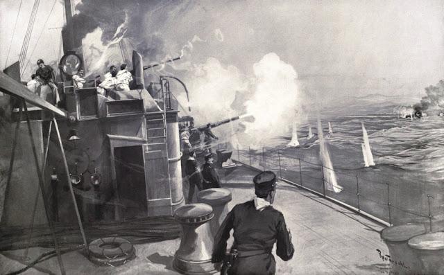 """Cazatorpederos """"Terror"""" de la Marina de Guerra Española."""