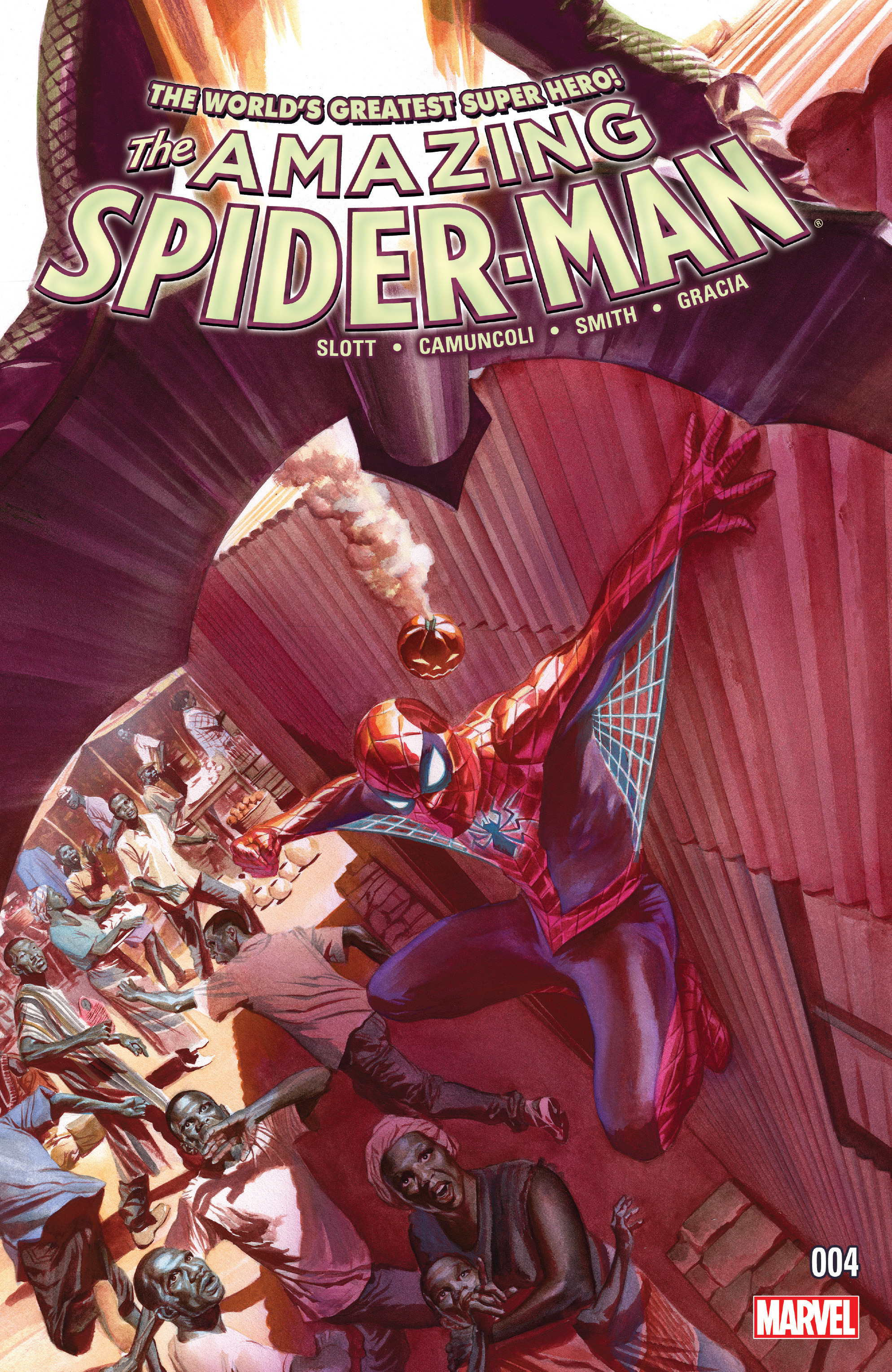 The Amazing Spider-Man (2015) 4 Page 1