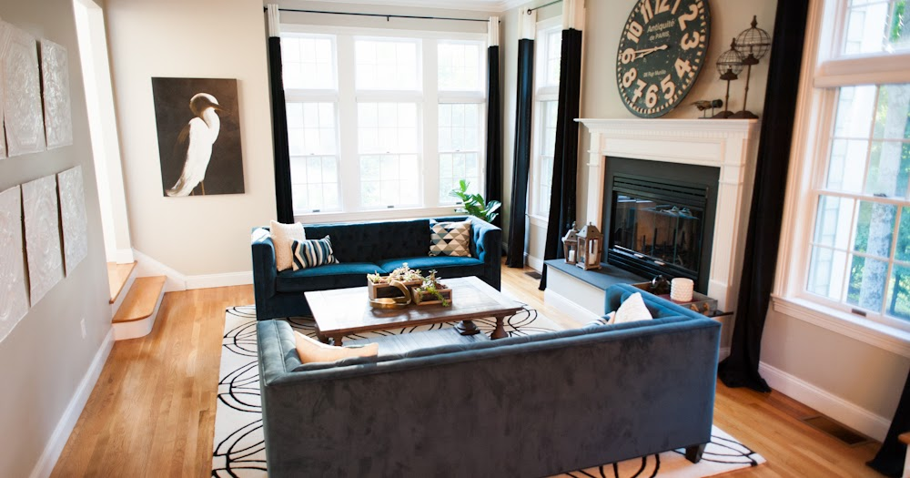 Drastic Living Room Makeover: Open Concept Dining And Living Room Decor Makeover