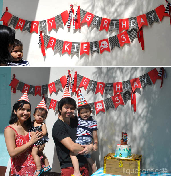 Lique's Antics: A Pirate Themed 3rd Birthday Party (Jake