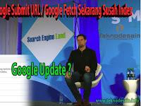 """""""Google Fetch"""" Untuk Submit URL Sekarang Susah Index?"""