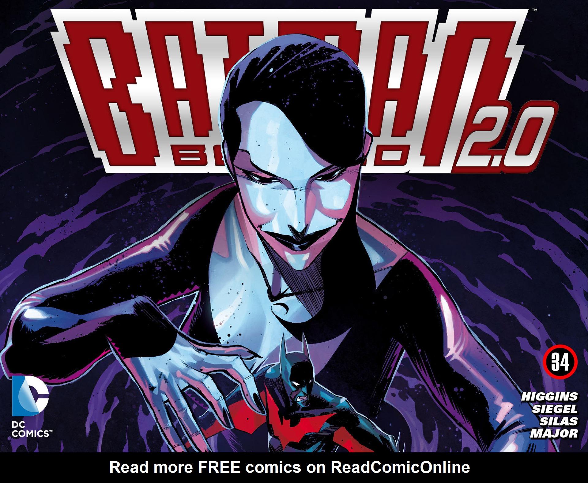 Batman Beyond 2.0 34 Page 1