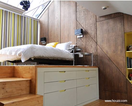 Mobiliario funcional plataforma dormitorio