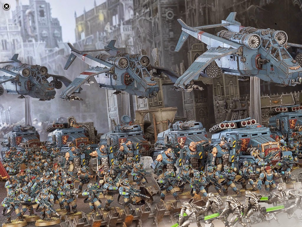 Vostroyan Scions: Cadia's Creed: Warhammer 40k And The Imperial Guard: June 2014