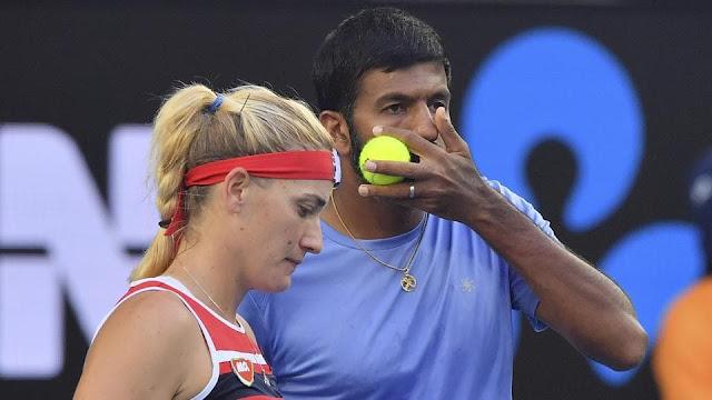 Rohan Bopanna, Timea Babos reach mixed doubles final of Australian Open 2018