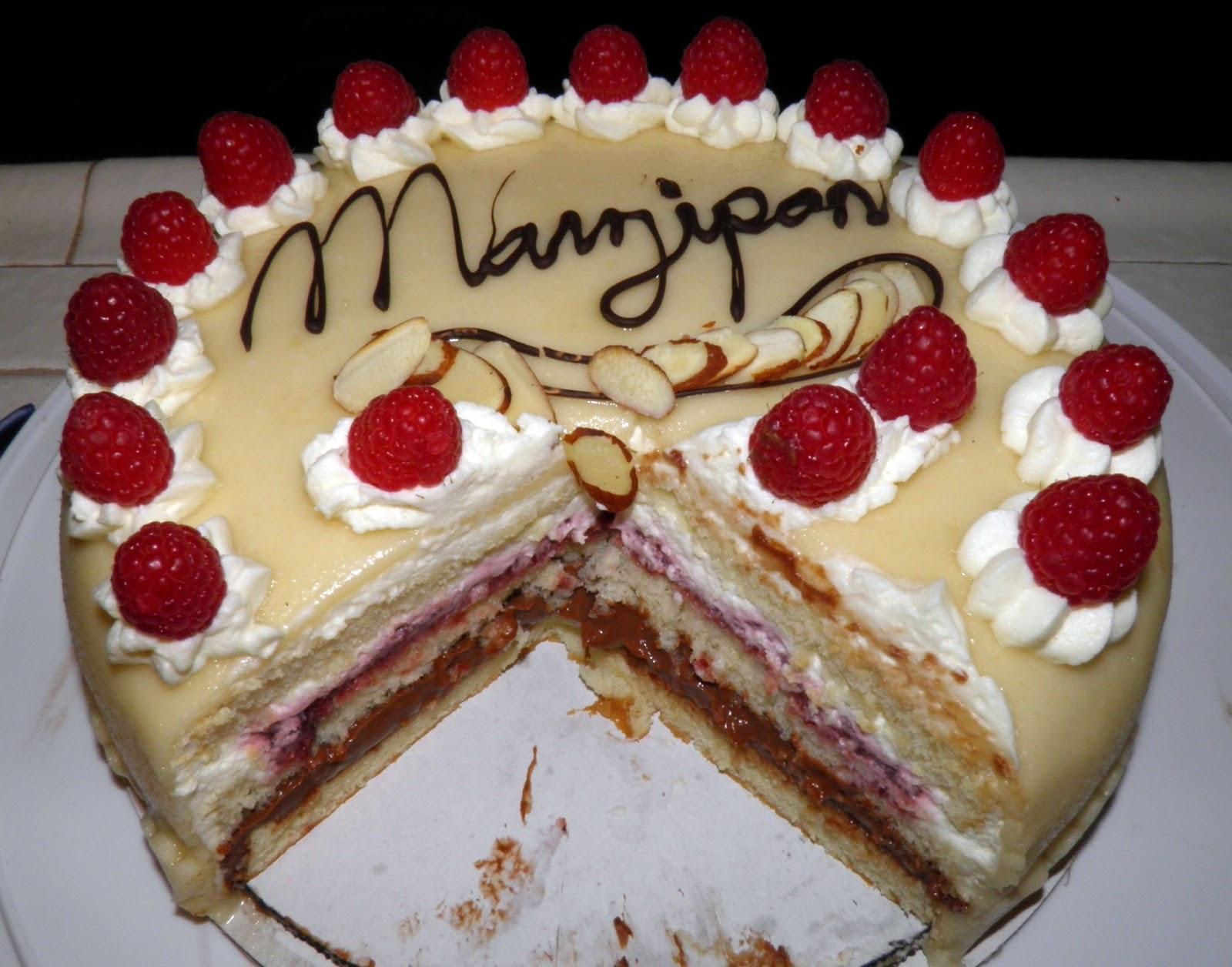 Marzipan Cake Recipe German