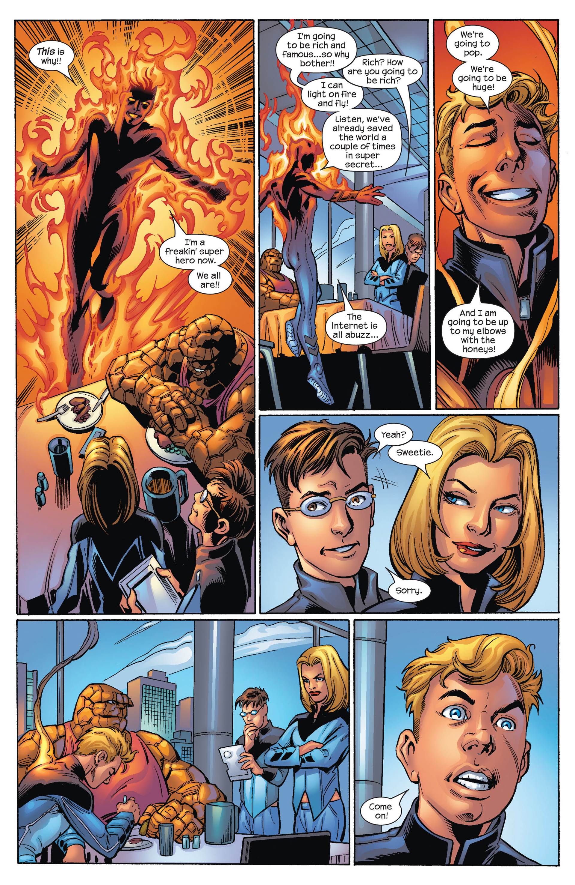 Read online Ultimate Spider-Man (2000) comic -  Issue #68 - 4